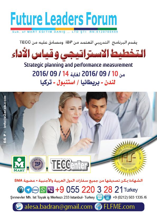 Strategic planning and performance measurement